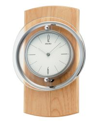 Seiko Natural Wood Clock QXC210Y