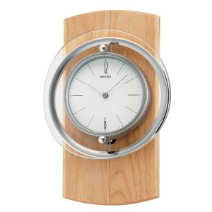QXC210Y Seiko Circular Longcase Wall Clock