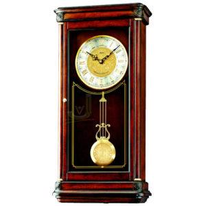 QXH016B Seiko Wooden Longcase Wall Clock
