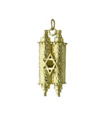 Scroll Star Of David Pendant RL129
