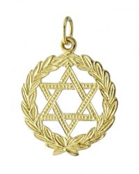 Star Of David Pendant RL130MC