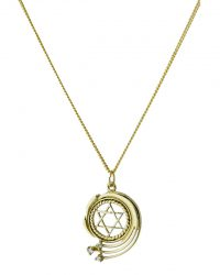 Fancy Star Of David Plus Chain RL137