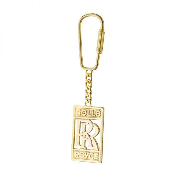 9ct-Gold Rolls-Royce Key-Ring 9RRHCEG9