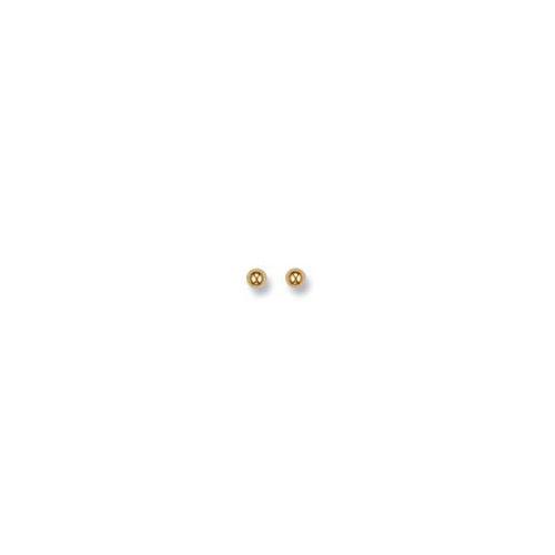 ST0002 9ct Yellow Gold 4 mm Ball Studs