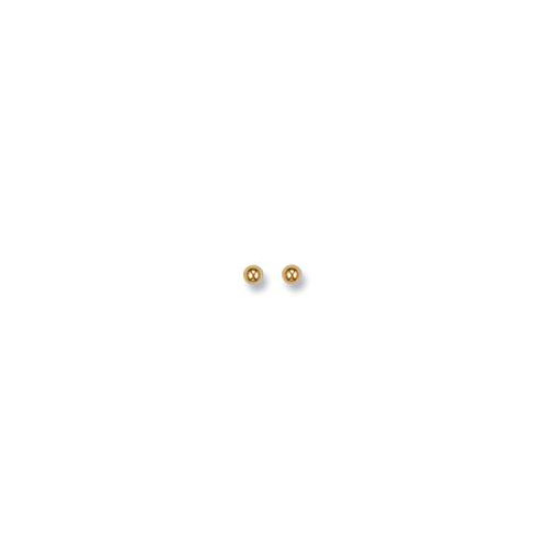 9ct Gold 6mm Ball Studs ST0004