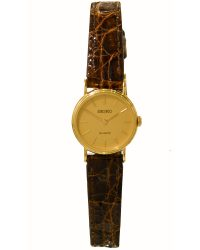 Seiko 9ct Gold Ladies Watch STE774D