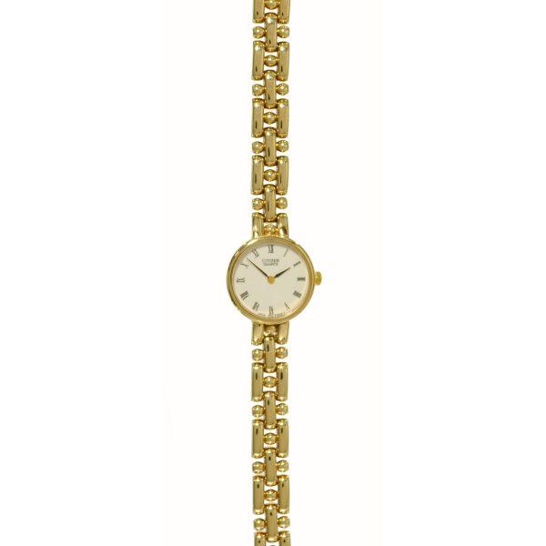 Citizen 9ct-Gold Bracelet-Watch SX140253C