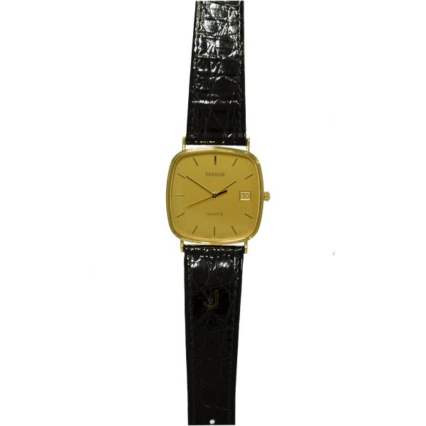 Tissot 9ct Gold Gents Watch T310E651