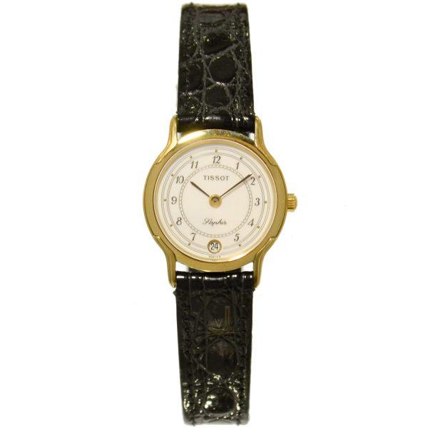 Tissot 9ct Gold Ladies Watch T310F606W