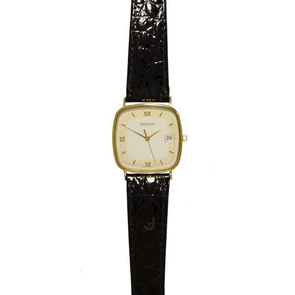 Tissot 9ct-Gold Gents-Watch T310G654