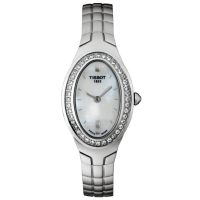 T47168581 Tissot Oval-T Diamond Watch