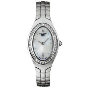 T47168581 Tissot Oval-T Diamond Ladies Watch