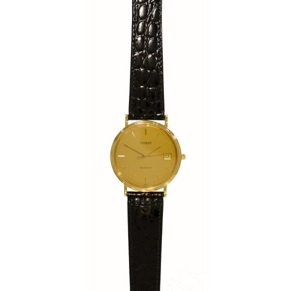 Tissot 18ct Gold Gents Watch T71340321