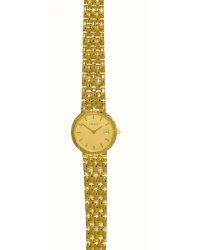 Tissot 18ct Gold Ladies Watch T73311121