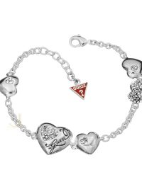Guess Multi Heart Bracelet UBB12012