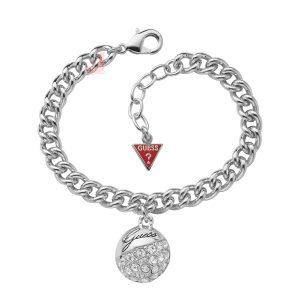 GUESS UBB70203 Crystal Crush Ball Charm Bracelet