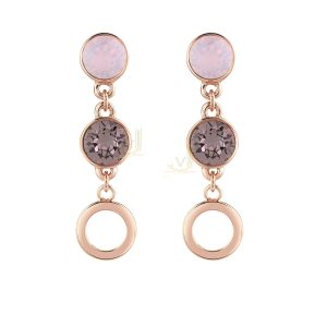 GUESS UBE61051 R Gold Hypnotic Two Stone Earring
