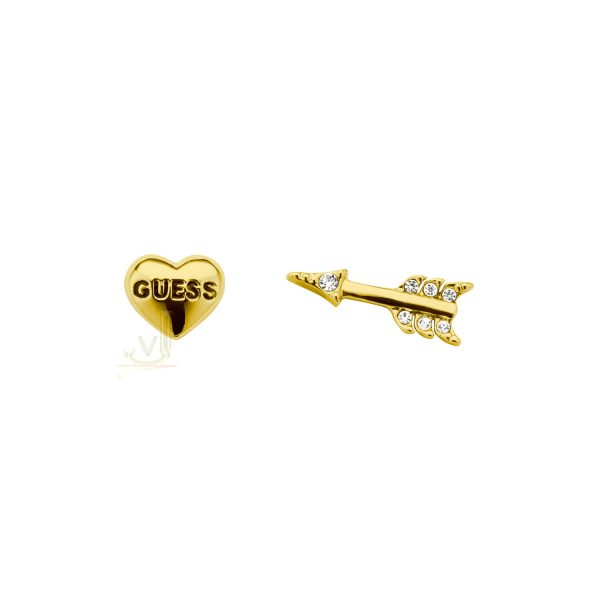GUESS UBE91306 gold Plated Bemine Earring