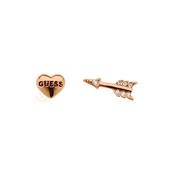 GUESS UBE91307 Rose gold Plated Bemine Earring