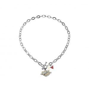 GUESS UBN11003 Desert Beauty Pave Heart Necklace