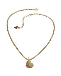 Desert Beauty Heart Necklace UBN11426