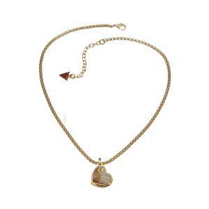GUESS UBN11426 Desert Beauty Heart Necklace