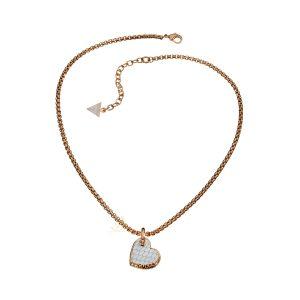 GUESS UBN11427 Desert Beauty Heart Necklace