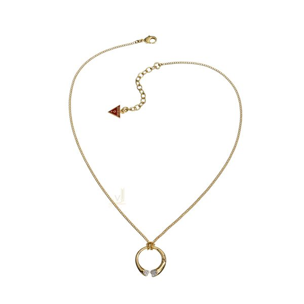 GUESS PVD gold plating Heart Shapes Love Necklace