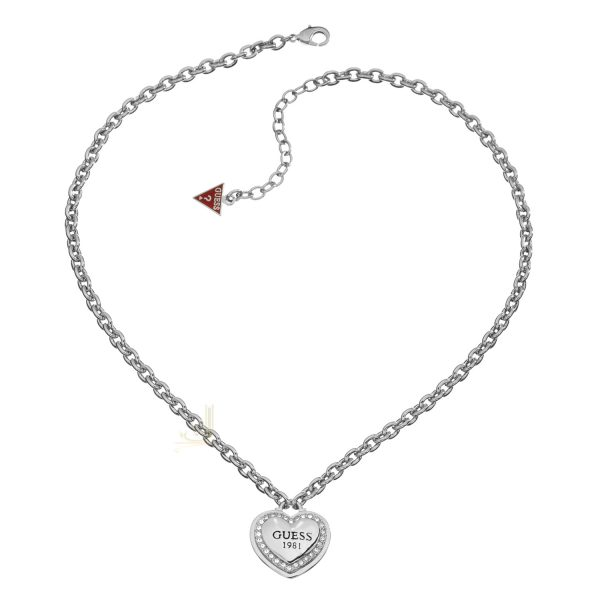 GUESS UBN11492 1981 Collection Necklace