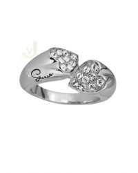 Heart Shapes Love Ring UBR11404-54