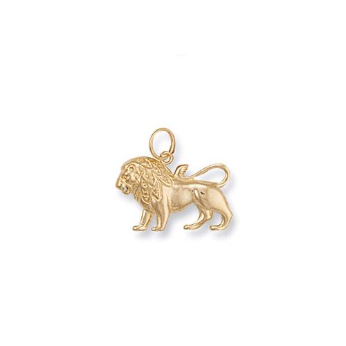Gold Leo Zodiac Pendant ZD0007
