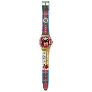 GJ121 Swatch Sweet Teddy unisex Watch