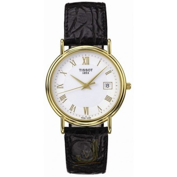 Tissot 18ct Gold Ladies Watch T71312913