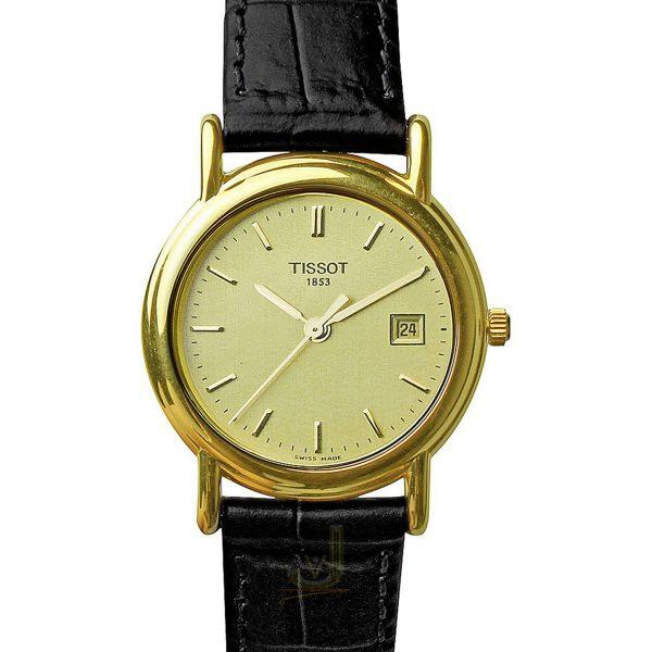 Tissot 18ct Gold Ladies Watch T71312921
