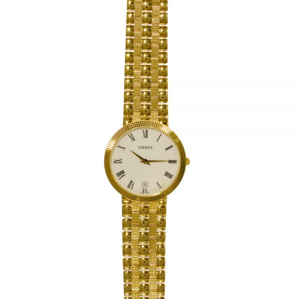 Tissot 18ct Gold Gents Watch T73340613