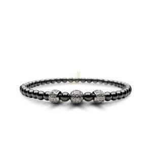 BERING Arctic Glow ceramic ladies bracelet 607-6117-200