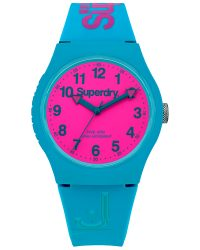 Superdry Teal watch SYG164AUP