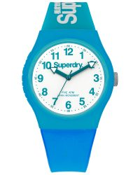 Superdry Blue watch SYG164AUW