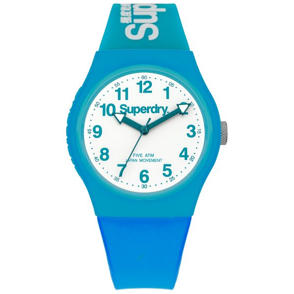Superdry Blue watch SYG164AUW