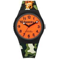 Superdry Green Camo watch SYG164NO