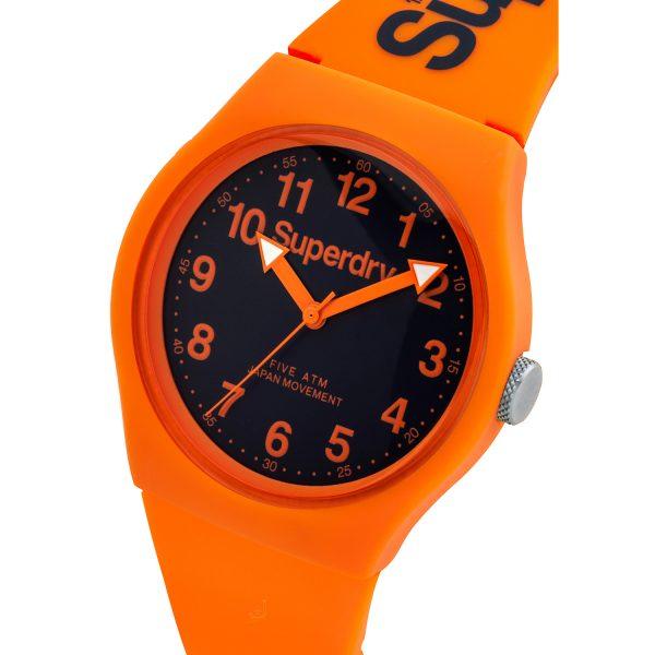 Superdry URBAN Orange silicon strap watch SYG164O