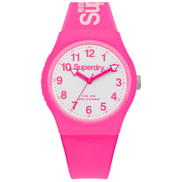 Superdry Pink Watch SYG164PW