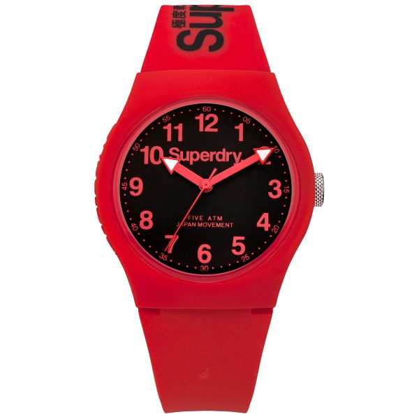 Superdry Red Watch SYG164RB