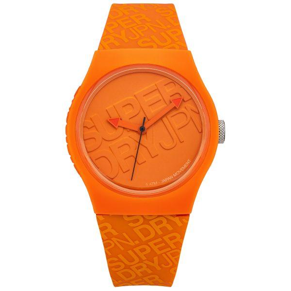 Superdry Orange Watch SYG169O