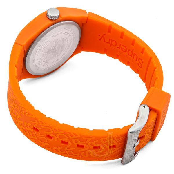 Superdry URBAN Orange silicon strap watch SYG169O
