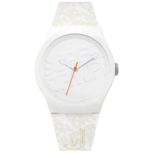 Superdry White Watch SYG169W