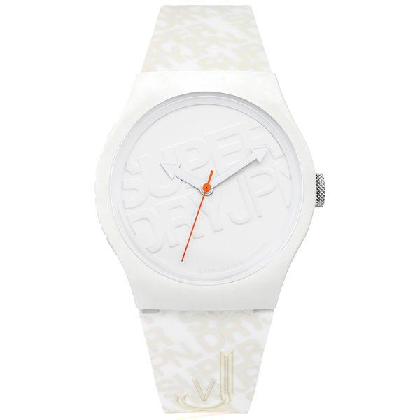Superdry White Watch SYG169W