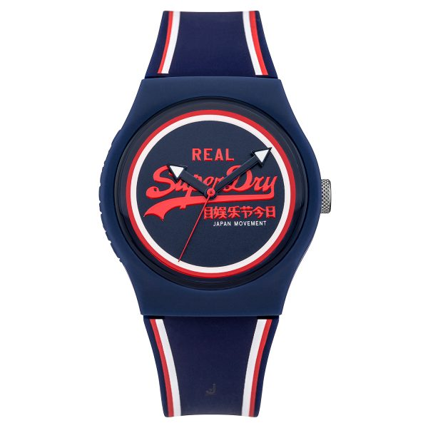 Superdry Navy Watch SYG198UR
