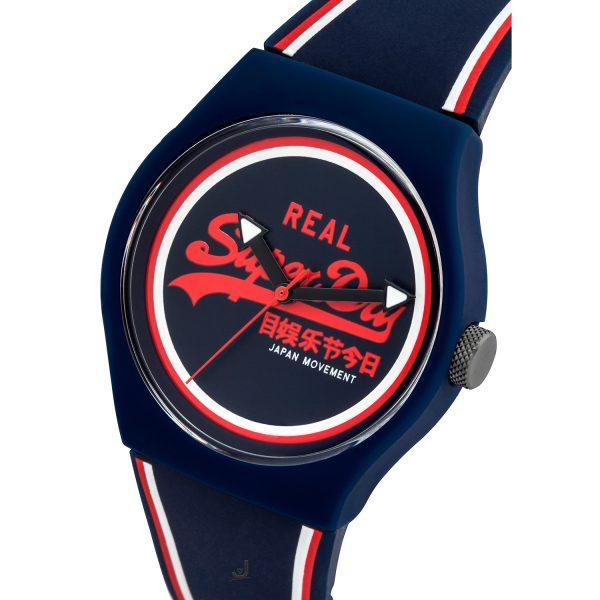 Superdry URBAN Navy silicon strap watch SYG198UR