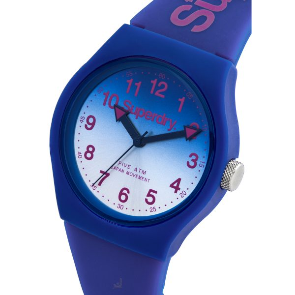Superdry Urban Laser Blue strap watch SYG198UU